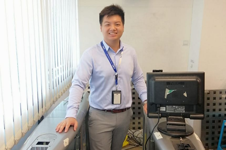 Mr Benjamin Tong enrolled in the ITE Work-Study Diploma in Security Systems Engineering course as an assistant engineer with NEC Asia Pacific.