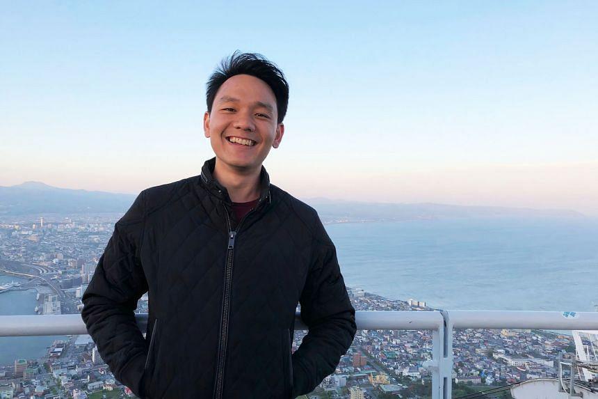 Mechanical engineering graduate Seow Xian Jin successfully transitioned to software development and is enjoying it. PHOTO: SEOW XIAN JIN