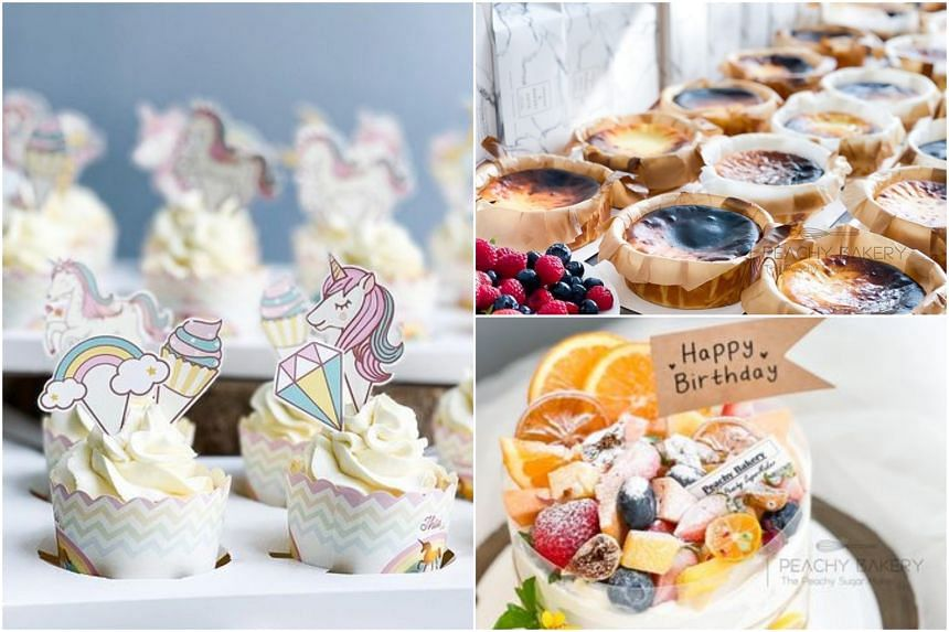 The home-based business is known for its cakes, biscuits and dessert tables.