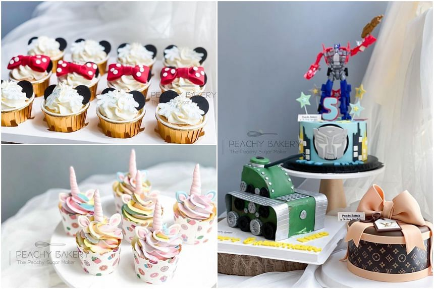 Home-based business The Peachy SugarMaker is known for its cakes, biscuits and dessert tables.