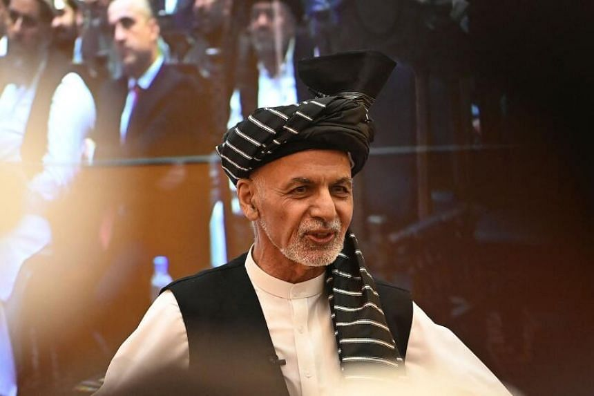 First elected president in 2014, Ashraf Ghani (pictured) took over from Hamid Karzai.