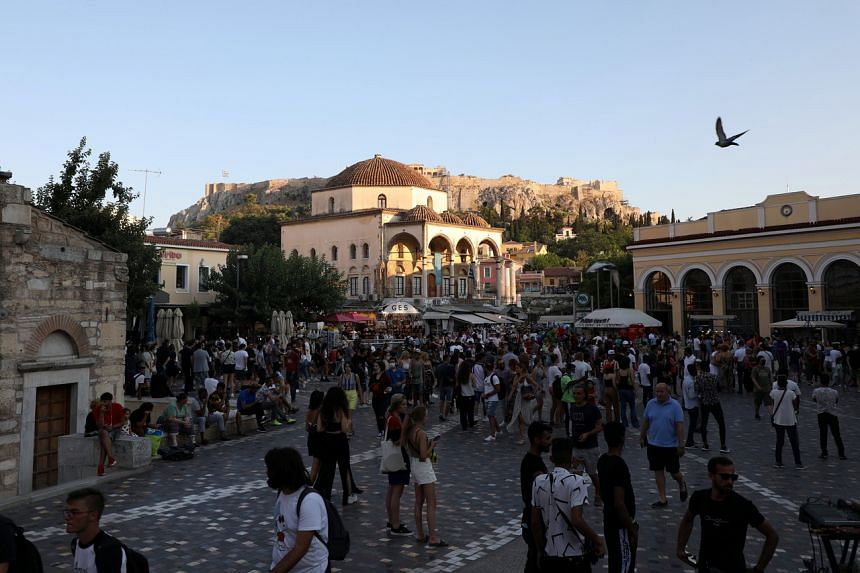 Over 13,200 people have died of the virus in Greece.