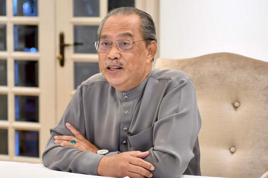 Malaysia's Prime Minister Muhyiddin Yassin will tender his resignation on Aug 16, 2021.