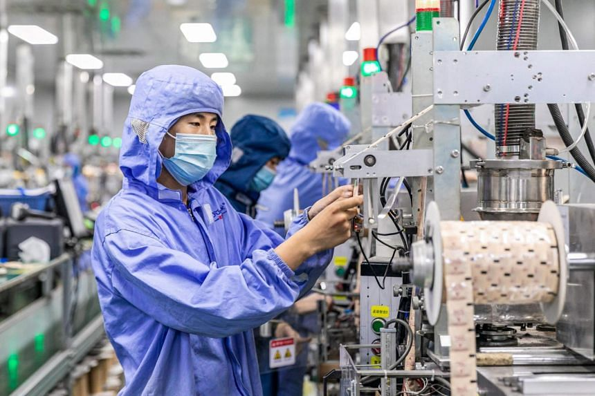 Industrial production in the world's second-largest economy increased 6.4 per cent year on year in July.