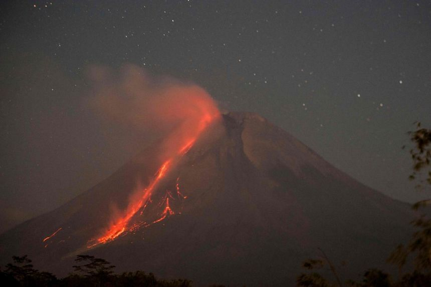 Mount Merapi has been particularly active in recent months.