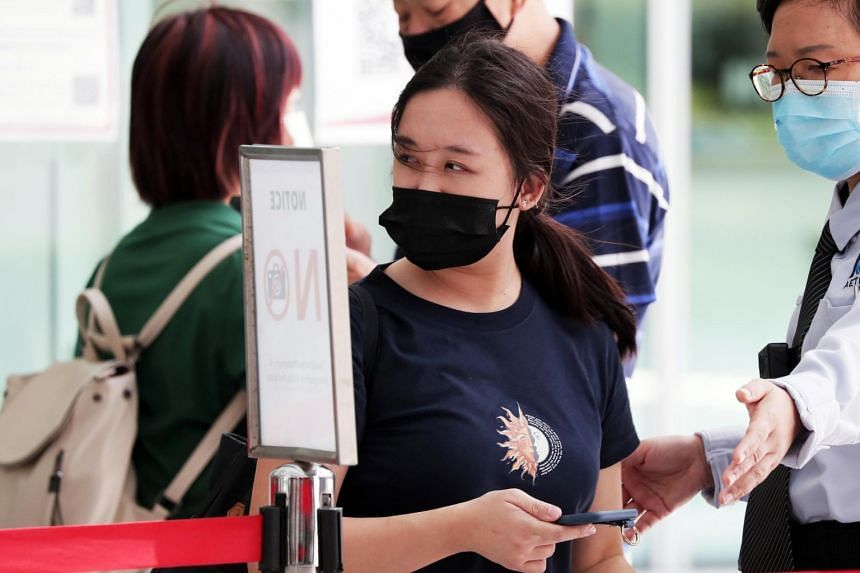 Esther Tan Ling Ying had lied about her travel history to get medicine from a clinic in Clementi.