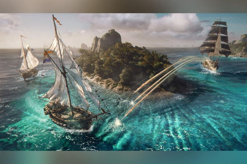 The game Skull & Bones has been in development since 2013 and is said to have cost more than US$120 million (S$163 million) to date.