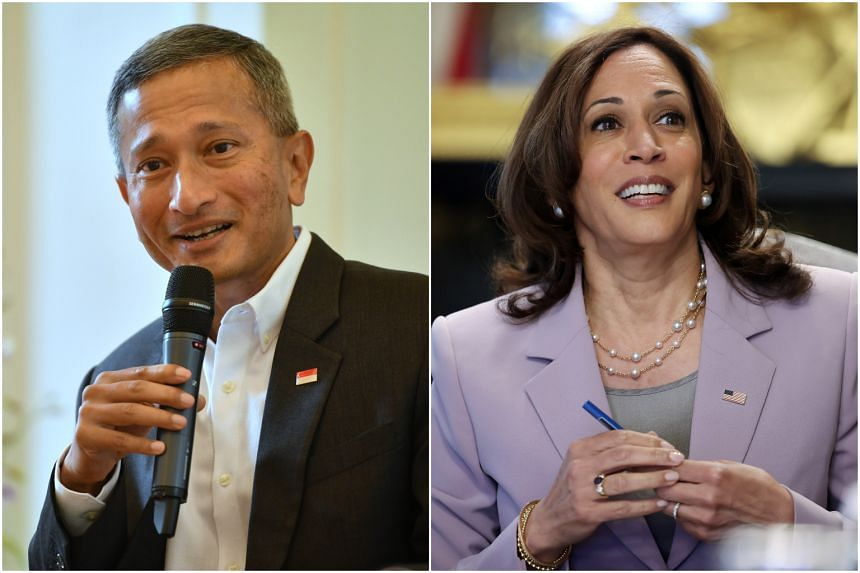 Foreign Minister Vivian Balakrishnan outlined the key areas both sides intend to work on together when US Vice-President Kamala Harris visits Singapore next week.