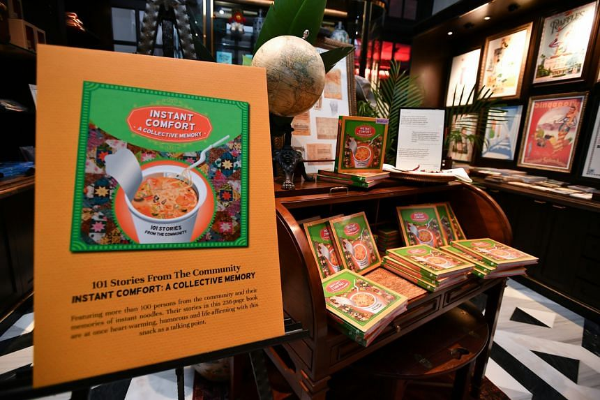 The book features stories of more than 100 individuals from the community and their memories of instant noodles.