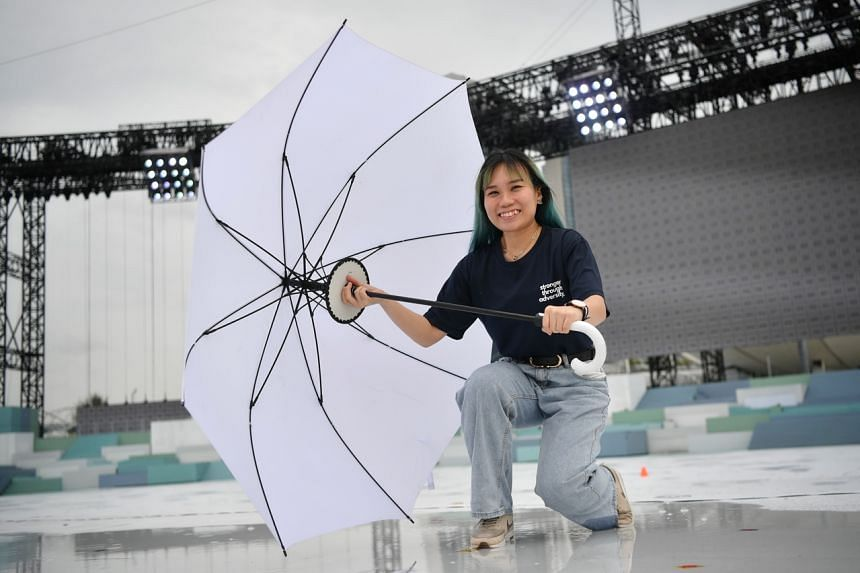 Ms Amanda Ong Wan Yu, a volunteer with the Singapore Soka Association who helped choreograph a dance for 274 performers in Act Two of the show.