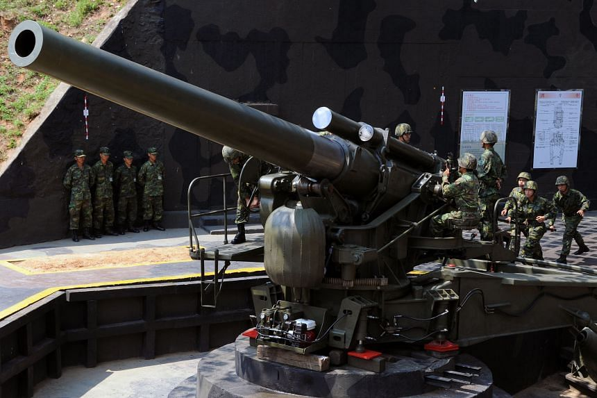 Washington remains Taiwan's most important unofficial ally and is bound by an act of Congress to sell it defence weaponry.