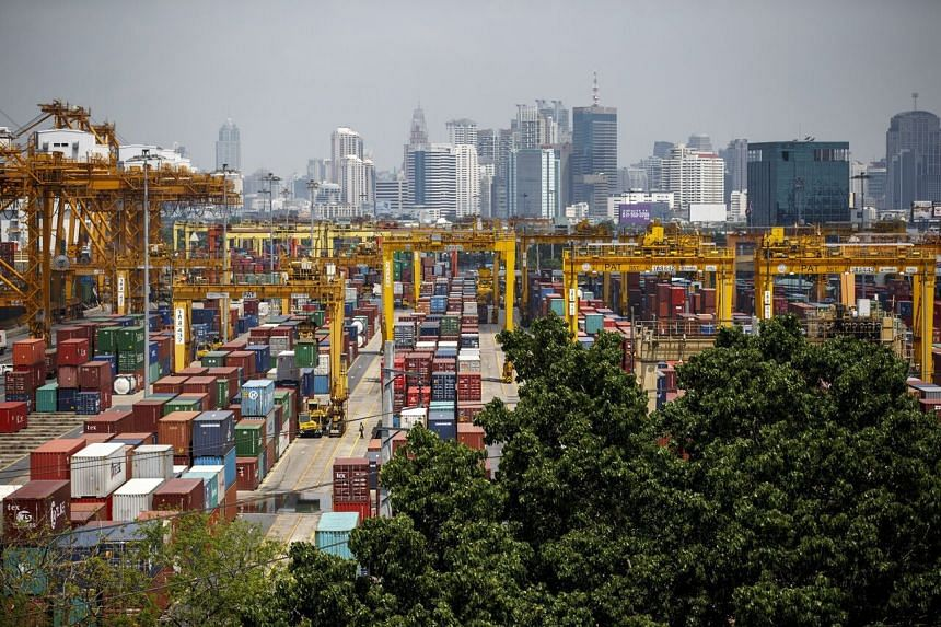 Thai exports in the second quarter surged 27.5 per cent from a year earlier.