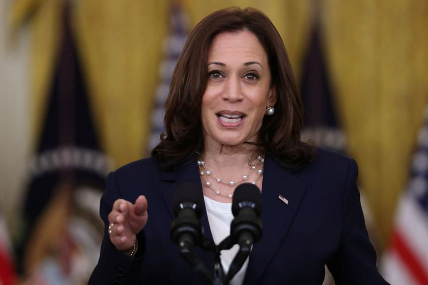 Kamala Harris is slated to arrive in Singapore on Aug 22, 2021, before heading to Vietnam on Aug 24.