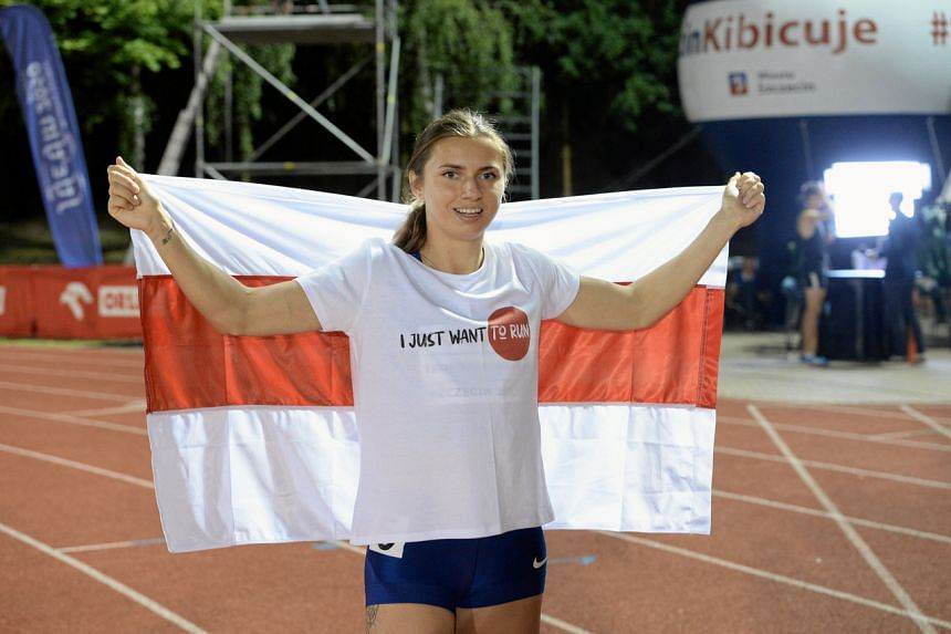 It can take three years to change sporting citizenship but Krystsina Tsimanouskaya hopes her application would be fast-tracked.