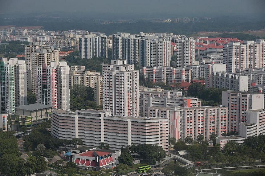 Jurong East, which has flats nearly 30 years old, is classified a non-mature estate.
