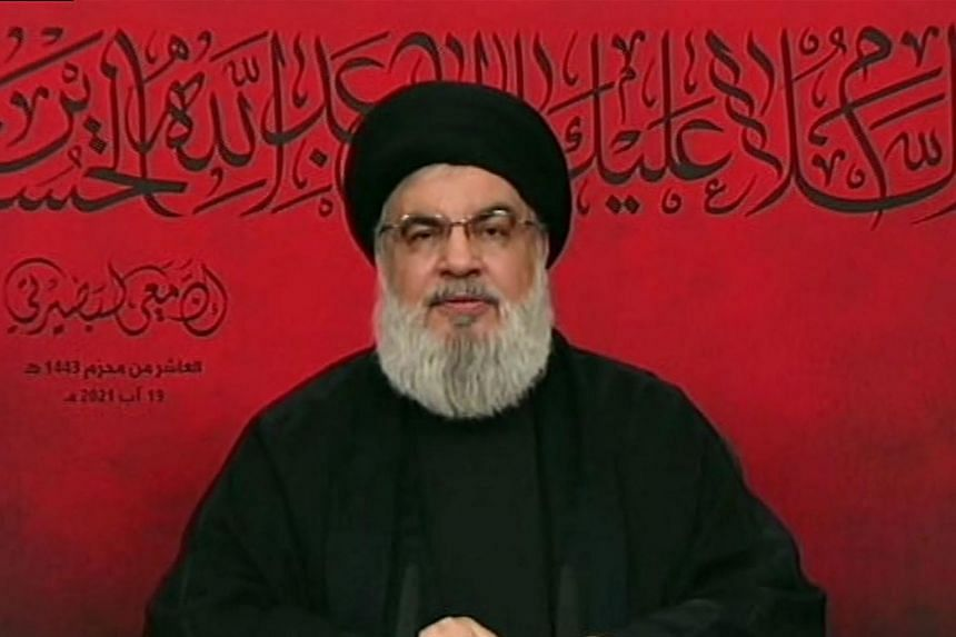 Hezbollah leader Sayyed Hassan Nasrallah said further ships would follow to help the people of Lebanon.