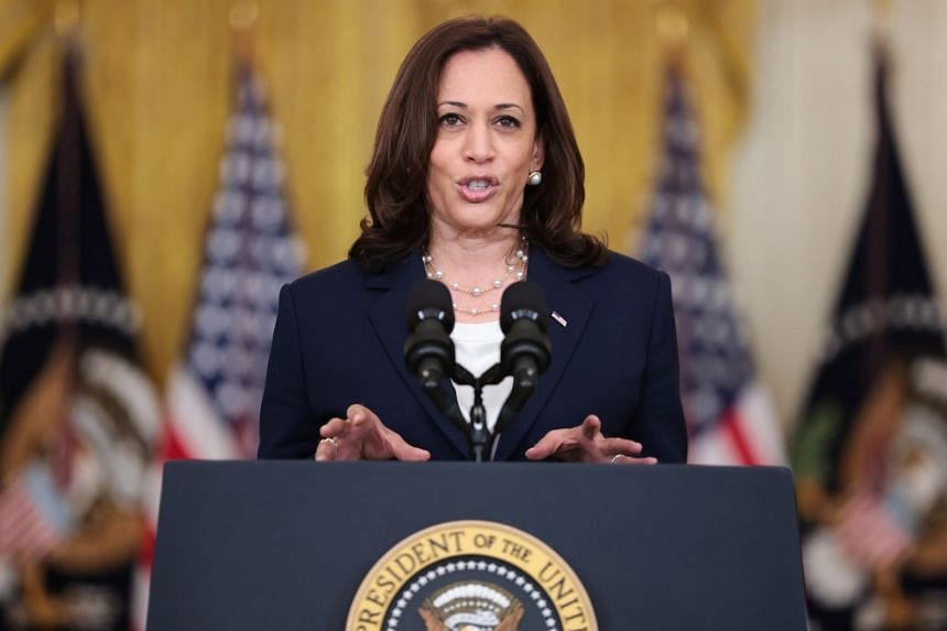 US Vice-President Kamala Harris is due in Singapore on Sunday and will arrive in Vietnam on Tuesday.