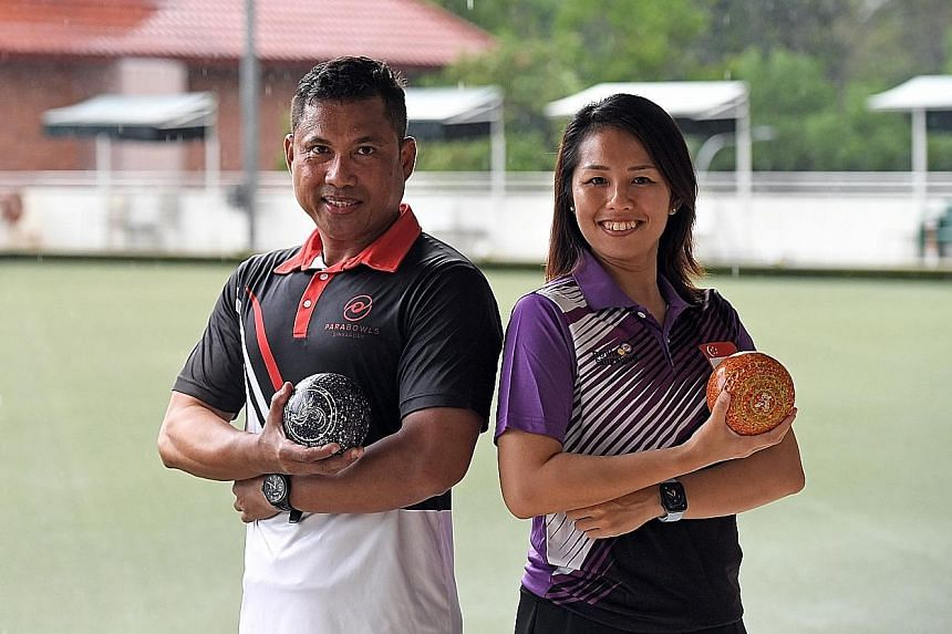 Lawn bowlers Khirmern Mohamad and 2019 SEA Games gold medallist Shermeen Lim hope to see more youngsters take up the sport.