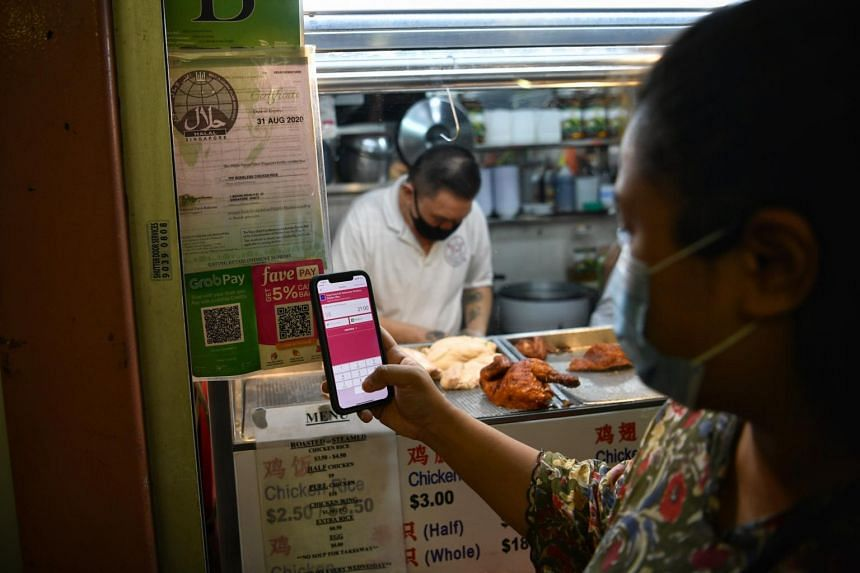 On the whole, mobile wallets account for 14 per cent of consumers' monthly spending.