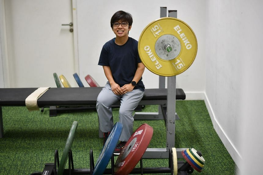 Nur Aini Mohamad Yasli will be the first Singaporean to take part in powerlifting at the Paralympics.
