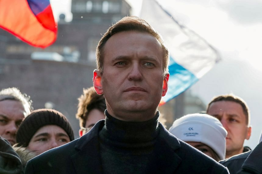 Alexei Navalny was flown to Germany for medical treatment after being poisoned in Siberia on Aug 20 last year.