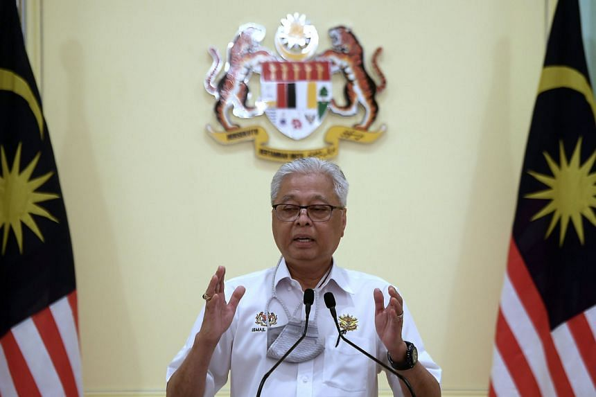 Datuk Seri Ismail Sabri Yaakob will lead the Perikatan Nasional coalition with a slim majority in Parliament.