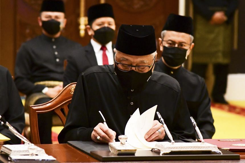 Datuk Seri Ismail is the country's third premier since the historic 2018 elections.