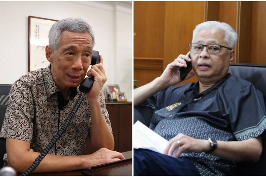 PM Lee made a telephone call to Mr Ismail and also wrote him a congratulatory letter.