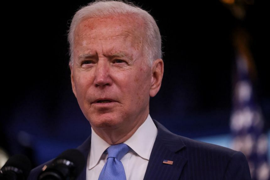 The setback comes as Mr Joe Biden is facing sharp criticism over the Taleban's swift takeover of Afghanistan.