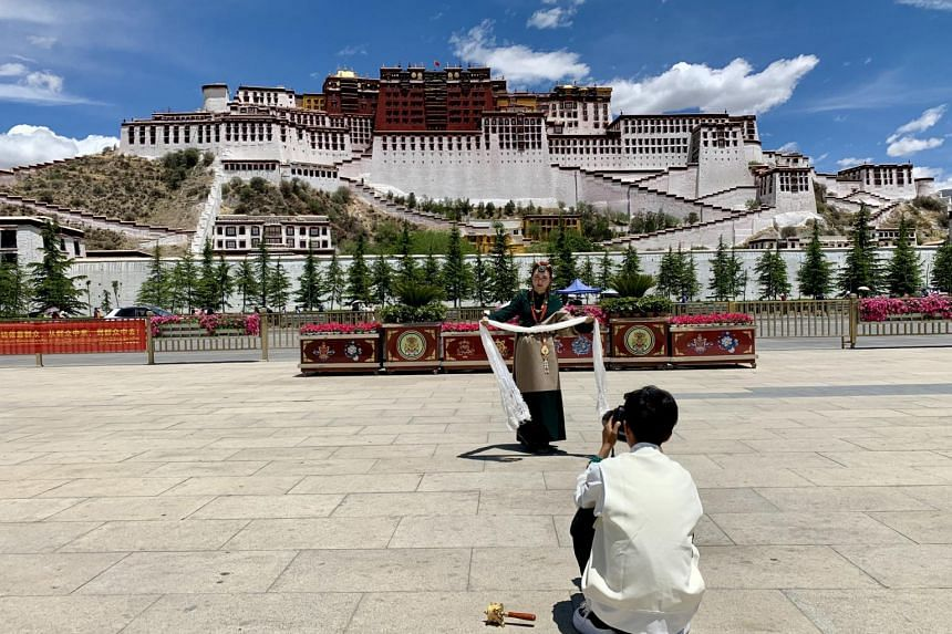 The Potala Palace in Lhasa, Tibet. A recent report by the UN's Intergovernmental Panel on Climate Change said the Qinghai-Tibet plateau region was facing rising flood hazards and more frequent extreme heat and rain.