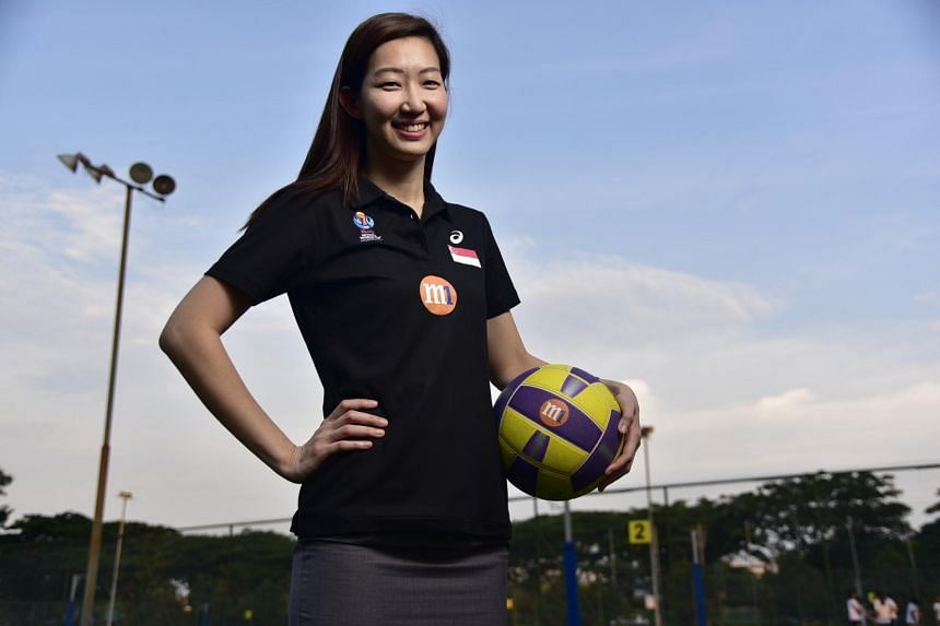 Charmaine Soh is excited to see how she can contribute to developing netball in Asia.