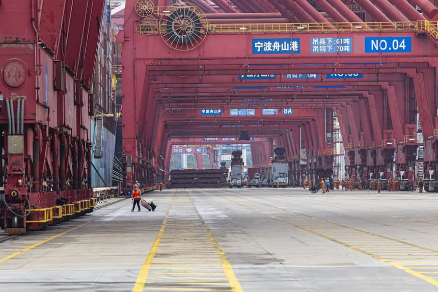 The Meishan terminal at Ningbo-Zhoushan port was shut from Aug 11 after a worker was found to be infected with Covid-19.