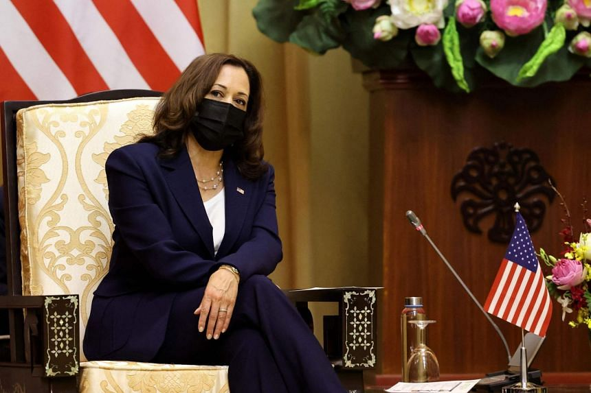 Ms Kamala Harris said the United States wants to upgrade its relationship with Vietnam to a strategic partnership.