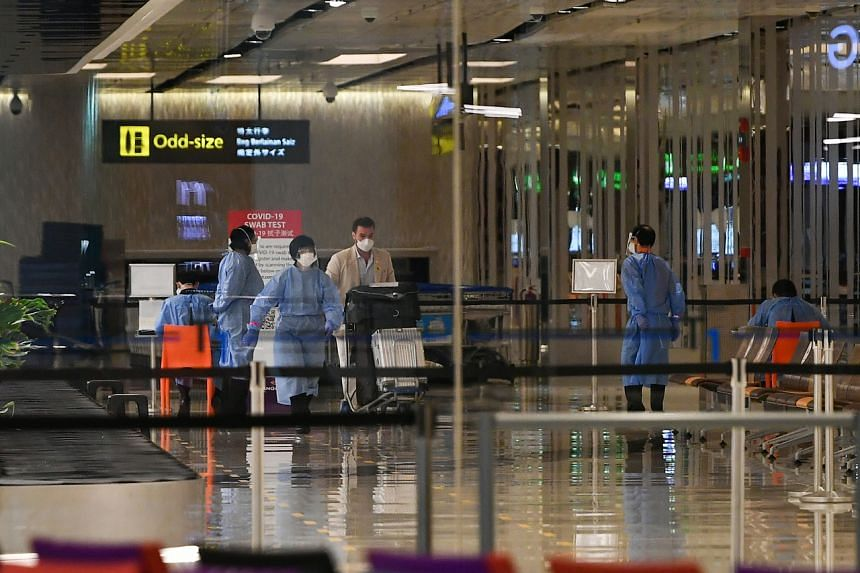 The Civil Aviation Authority of Singapore issued 230 air travel passes for travellers from Hong Kong and 13 passes for visitors from Macau.