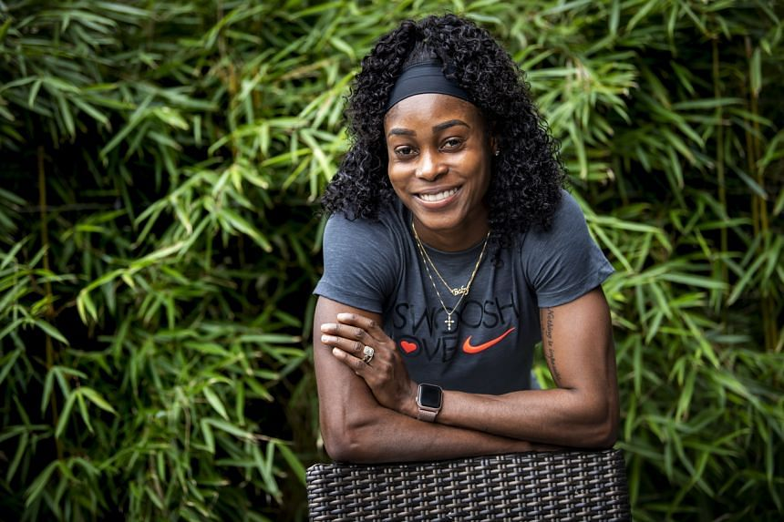 Elaine Thompson-Herah won gold in both the 100m and 200m at the Tokyo Games in the past month, repeating her feat at Rio 2016.