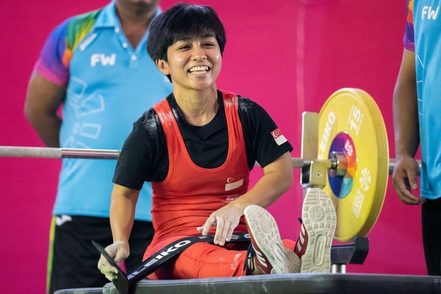 Nur Aini Mohamad Yasli's current personal best is 81kg and she had been aiming for a new record at the Tokyo Games.