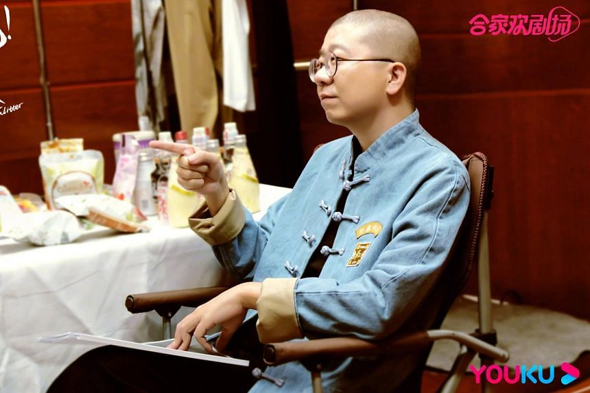 """Li Dan had posted a video on his Weibo account on Feb 24, calling the underwear a """"career lifejacket""""."""