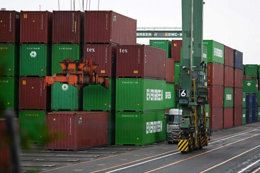 The cost of sending a container from Asia to Europe is about 10 times higher than in May 2020.