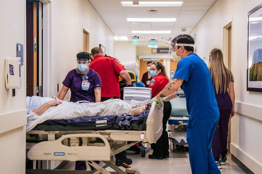 The US South is the epicentre of the latest outbreak but hospitalisations are rising nationwide.