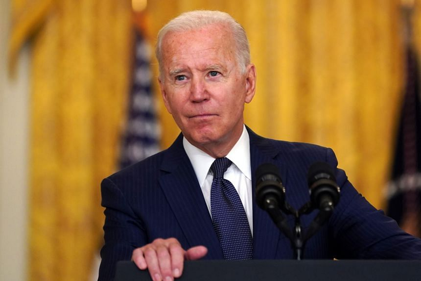 US President Joe Biden was left with a 47 per cent approval rate as of Aug 26.