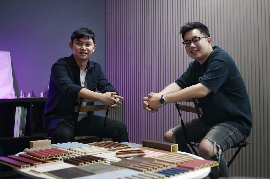 Vwalla co-founders Ckay Loh (left) and Kenneth Tan.