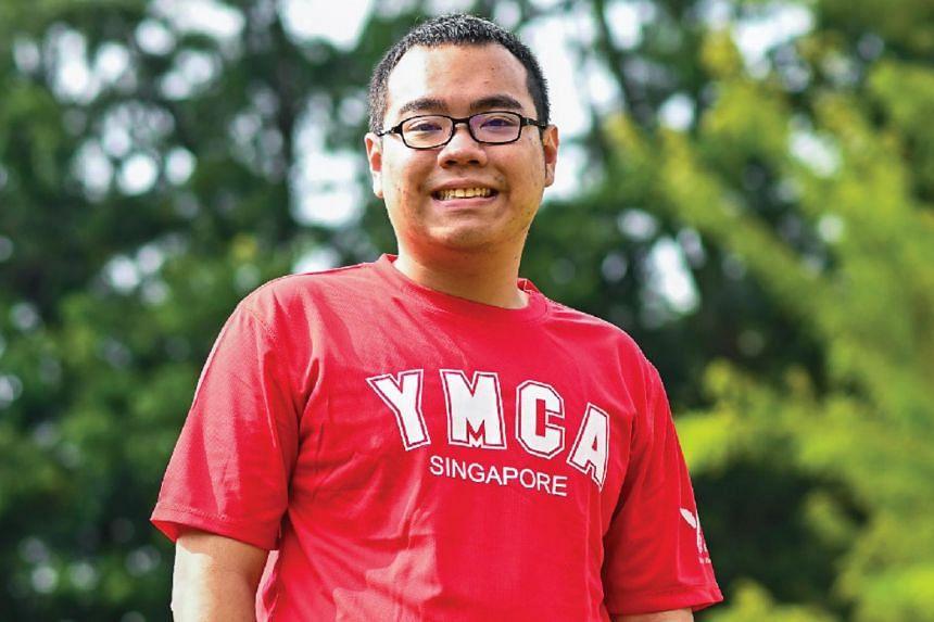 Mr Gareth Chua is a YMCA Special Needs Ambassador.