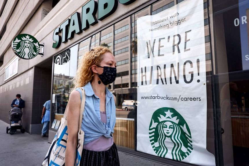 Consensus forecast from Bloomberg shows analysts expect the US economy to have added 750,000 jobs this month.