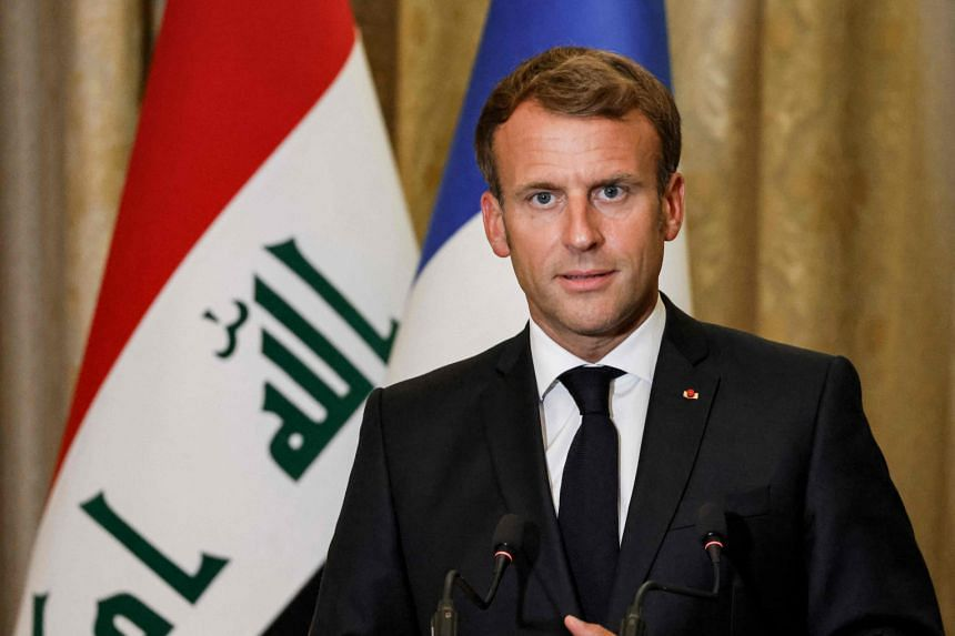 President Emmanuel Macron said that France had evacuated 2,834 people from Afghanistan since Aug 17, 2021.