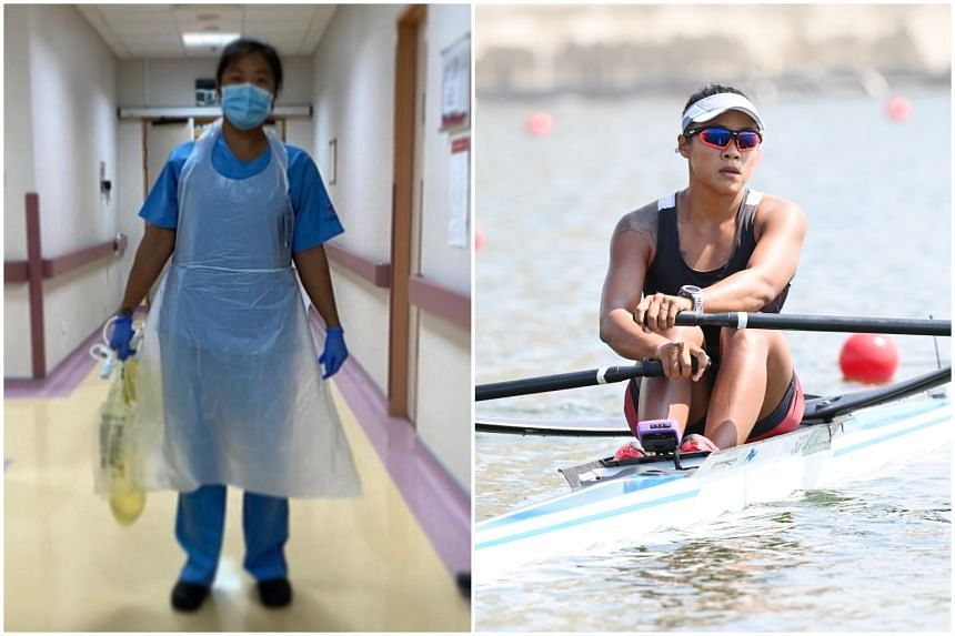 Joan Poh, who works at Tan Tock Seng Hospital, took more than 20 months of no-pay leave to train for the Tokyo Olympics in Japan.