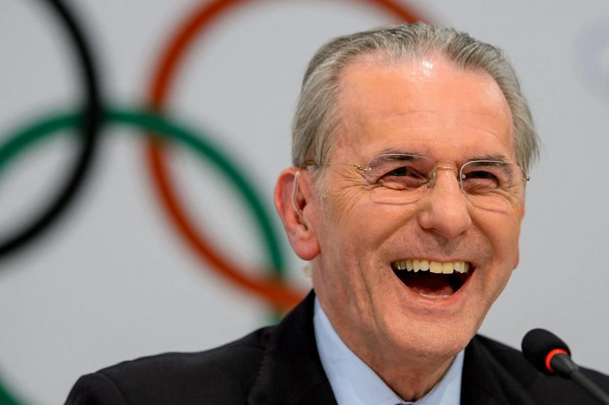 Mr Jacques Rogge's outwardly severe looking manner hid a warm personality - jokes at his own expense never far from his lips.