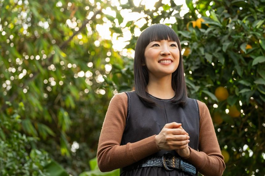 Marie Kondo moved to California five years ago to launch a consulting business in the United States.
