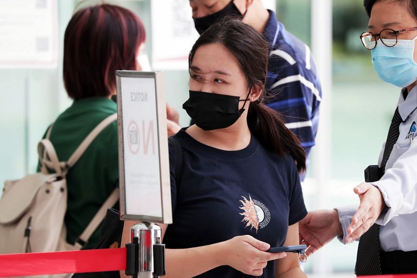 Esther Tan Ling Ying lied about her travel history to get some medicine, after arriving from Britain on March 23, 2020.