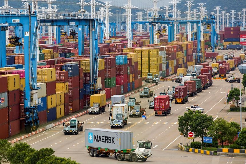 Ningbo-Zhoushan Port is among the busiest ports in China.