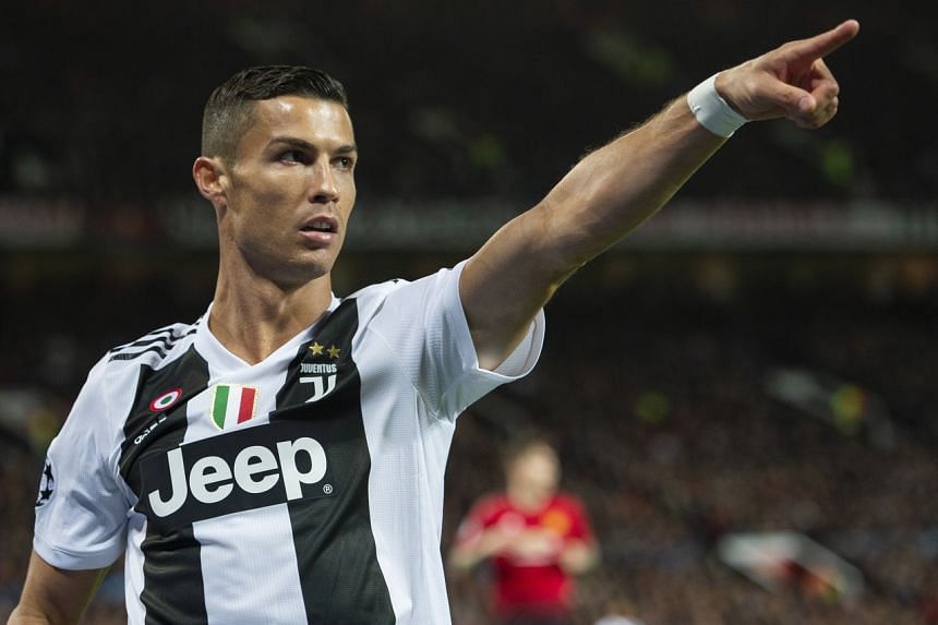 Manchester United signed Cristiano Ronaldo to a two-year contract.